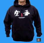 Kyokushin hooded s-shirt art.no. 126